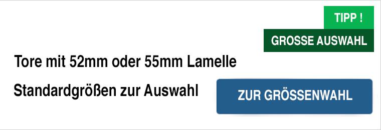 Musterlamelle zu Rolltor 52 55 oder 77 mm Garagentor Rolltor Sektionaltor