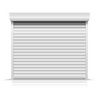 Garagentor Normmaße maße breite 2800mm 3200mm inkl führungsschienen 2x